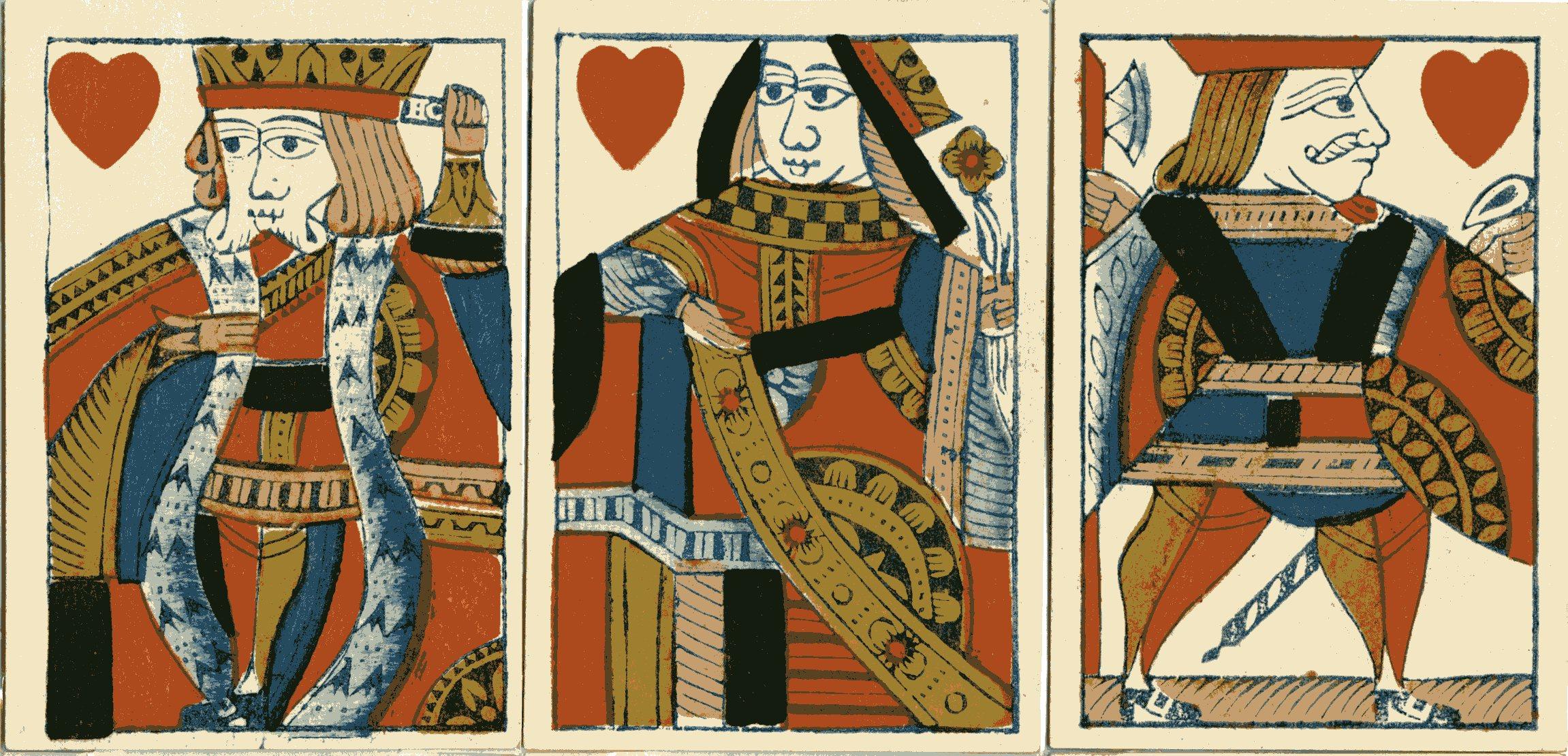 Spielkarten Englisch